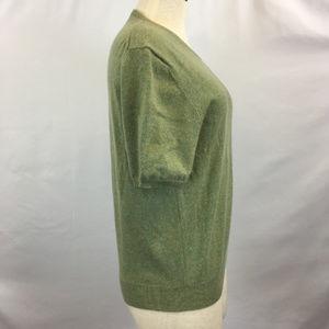 TSE Sweaters - TSE 100% Pure Cashmere Green Pullover Sweater